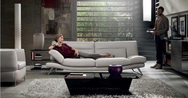 Natuzzi sofas respiro 2847 modern italian sofa italien for Canape cuir italien natuzzi