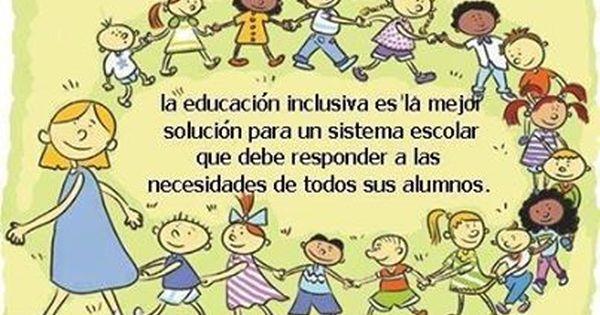 Educación inclusiva | Educando | Pinterest
