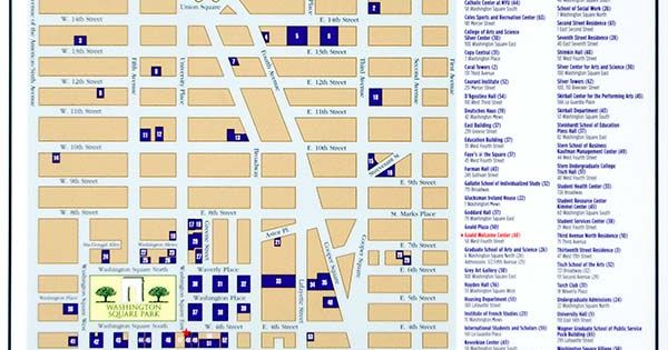 new york university campus map new york university pinterest college city and ny ny. Black Bedroom Furniture Sets. Home Design Ideas