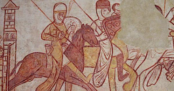 Nicole Bertin Infos L Un Des Tresors Des Templiers Est A Cressac Des Fresques Uniques En Charente Templier Les Templiers Xiie Siecle