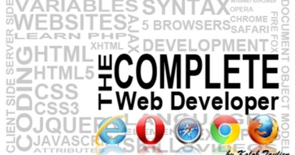the complete web developer the everything you need web developer course 199 wishlist courses pinterest everything and the ojays