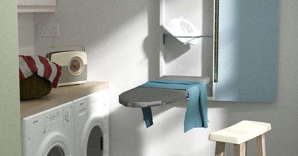 eureka deluxe klapp b gelbrett zur wandmontage taupe k che haushalt hwr. Black Bedroom Furniture Sets. Home Design Ideas