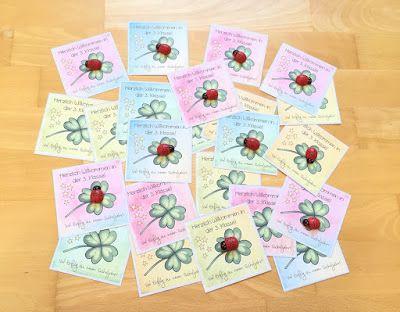 Willkommensgruss Fur Meine Neue Klasse Willkommenskarte Neue Klasse Geschenke Fur Schuler