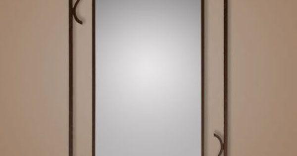 Espejo vestidor de forja modelo dona legua artesanos s - Legua artesanos ...
