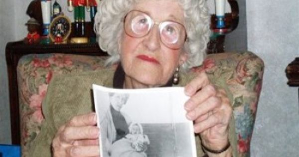 Oldest passenger to live was pictured here. Millvina Dean.She died when she