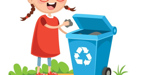 Vector Illustration Of Kid Recycling Trash Download A Free Preview Or High Quality Adobe Illustrator Ai Eps Pdf And High Resolution Mầm Non Dạy Dỗ Giao Dục