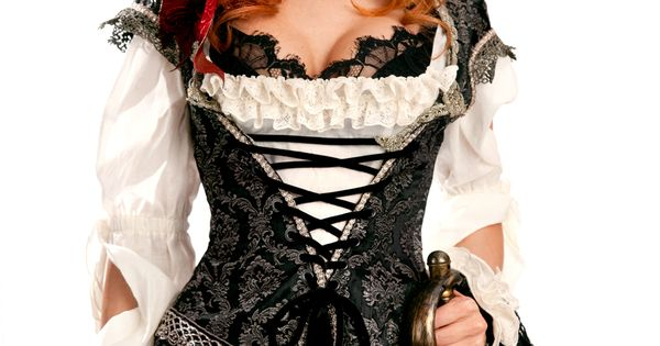 This was the inspiration for my pirate wedding outfit... Just not quite