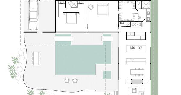 stahl house floor plan main floor mid 20th century