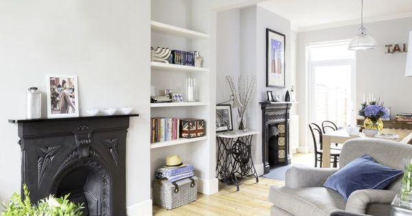 Stunning in suburbia victorian terrace victorian and for Victorian terrace living room ideas