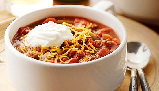 How To Make Chili Chili Recipes Sour Cream And Sprinkles