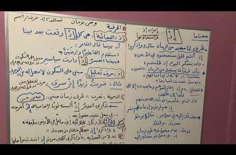 إعراب إذ واستعمالاتها ومعناها Youtube Arabic Langauge Arabic Language Language