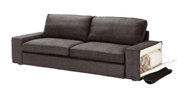 kivik sofa bed ikea generous seating series with a soft deep seat and comfortable support for. Black Bedroom Furniture Sets. Home Design Ideas