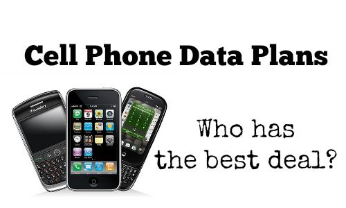Comparing Smartphone Data Plans Which Is The Best Deal Best Cell Phone Deals Best Cell Phone Coverage Prepaid Phones