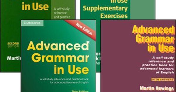 Free Book For Learning English Advanced Grammar In Use Martin Hewings Cambridge Leitura De Livros Gramatica Livros