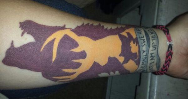 My Harry Potter marauders tattoo | Tattoos | Pinterest ...