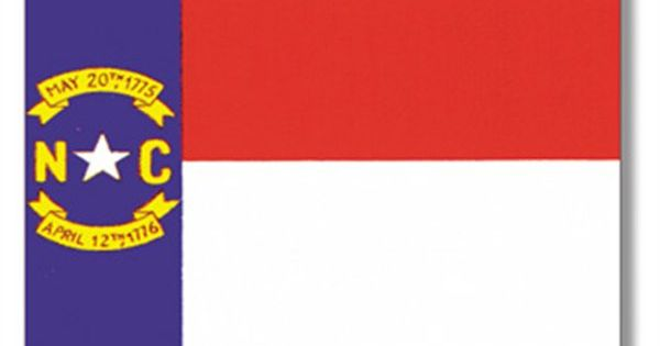 flag of nc