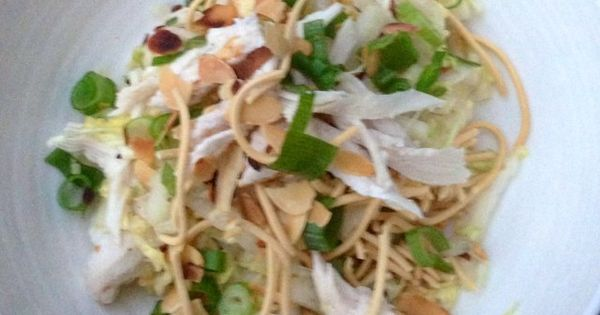 Oriental Cabbage Salad With Shredded Chicken (262 calories)   5:2 ...