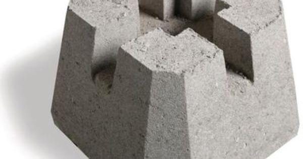 Shaw Brick Deck Block 6 Inch X 6 Inch Home Depot Canada Deck Posts Concrete Deck Blocks Diy Deck