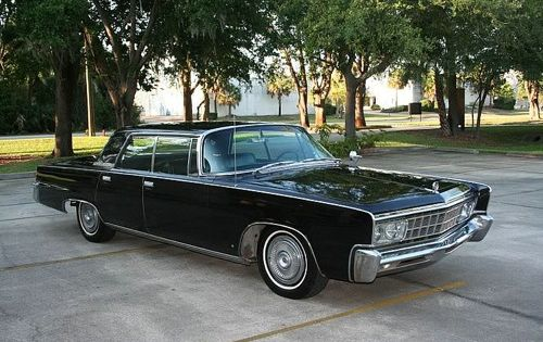 1966 Chrysler Imperial I Admit I Love This Because It Looks