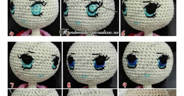 Amigurumi Lale Yapimi : Pin by Aga Pinda on szydelkowe lale Pinterest ...