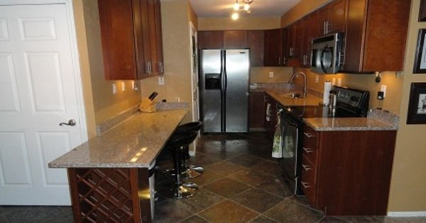 Nicely Done Galley Style Kitchen Our Listings Pinterest Galley Style Kitchen Kitchens And