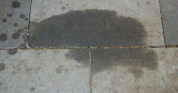 How to remove oil grease from cement or pavers pavement for Remove oil from concrete floor