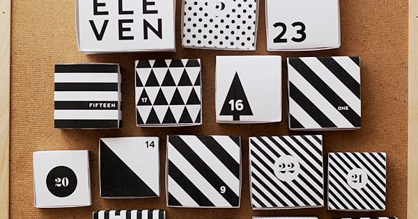 DIY: advent calendar free printable