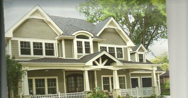 The colors for the outside of my house valspar gray silt - Valspar exterior paint color ideas ...