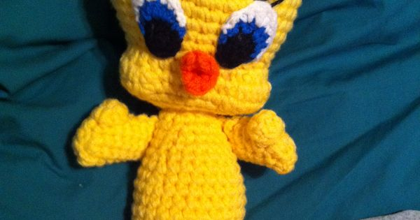Amigurumi Tweety Bird : My version of Tweety!! Crochet, nice ; ) Pinterest ...