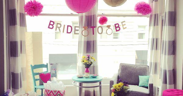 Bridal shower bachelorette party decorations at home for At home bachelorette party ideas