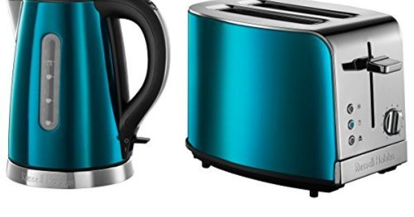 new russell hobbs electric sapphire blue jewels kettle jug. Black Bedroom Furniture Sets. Home Design Ideas