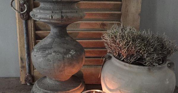 Sober en sfeervol huisdecoratie landelijk pinterest best lounge ideas and architectural - Oude huisdecoratie ...