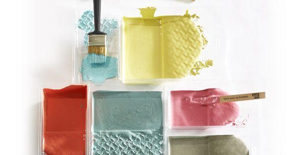 Karwei de kleur bepaalt voor een groot deel de sfeer in de kamer met de techniek sponsen - Kleurverf voor volwassen kamer ...