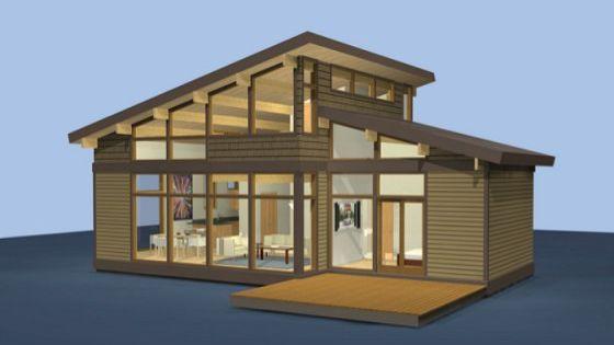 Dise o de casas de campo construidas con madera t pica - Diseno casas de campo ...