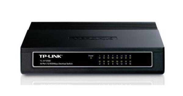 TP-Link TL-SF1016D 16-Port 10//100M Desktop Switch