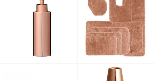 25 best ideas about marble bathroom accessories on for Rose gold bathroom set