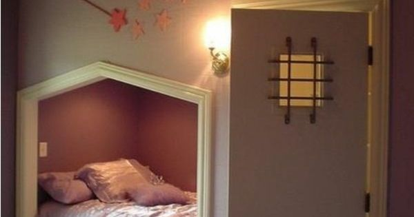 einrichtungsideen jugendzimmer dachschr ge eingebautes bett einbaum bel pinterest. Black Bedroom Furniture Sets. Home Design Ideas