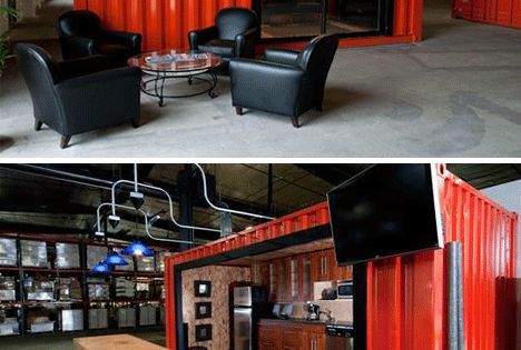 Man Cave Show Melbourne : I love shipping containers so a luxury container