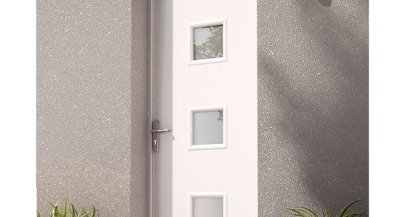 Les portes d entr e m talliques entr e contemporaine id es de porte et porte entr e - Porte exterieure lapeyre ...
