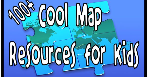 100+ Map Resources 4 Kids! Lots of great resources. Link to the
