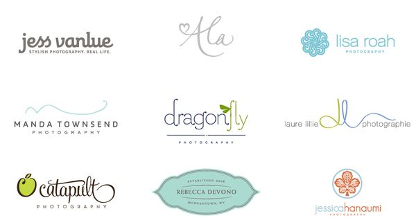 First graphic design semester and I am already obessed with good logos/type/branding
