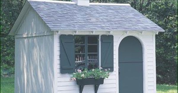 Shed Or Play House Architectural Shingles Roof Building A Shed Clapboard Siding