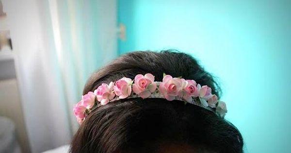 اصنعي ب نفسك ربطة شعرسهلة من الورد طوق الورد Fabric Flower Tutorial Flower Tutorial Fabric Flowers