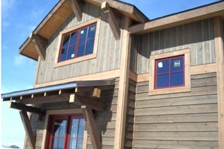 Pre Finished Aquafir Siding And Barn Series Timbers Cabin Exterior Colors Vertical Wood Siding House Paint Design