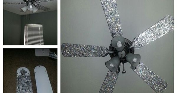 I Bling Out My Daughter's Ceiling Fan