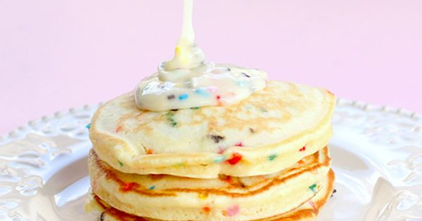 Confetti pancakes! Could be a fun birthday morning tradition :)