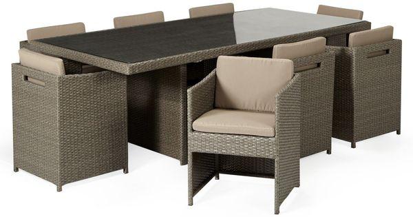 Salon de jardin alinea achat ensemble de table de jardin - Alinea meuble de jardin ...