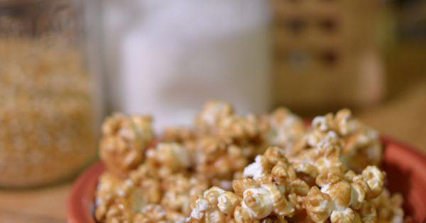 Spiced up caramel popcorn | Popcorn, Cinnamon Spice and Caramel