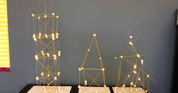 how to build a spaghetti tower with tape