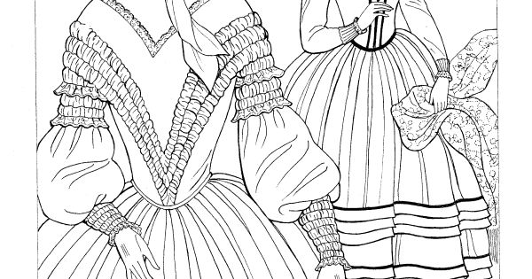ming ming coloring pages - dover publications on amazon godey 39 s fashions coloring
